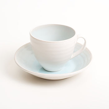 Cafe Stoneware Cup / Saucer