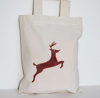 Rudolf The Reindeer Gift Bag