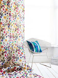 Dahlia Fabric - throws, blankets & fabric