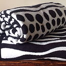 Zebra Stripes Blanket