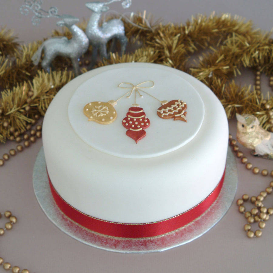 Cake Decorating Kit Images : Pin Christmas Cake Decorating Community Cakes We Bake on ...