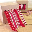Christmas Ribbon 10 Metre Roll