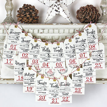 Vintage Count Down Decoration