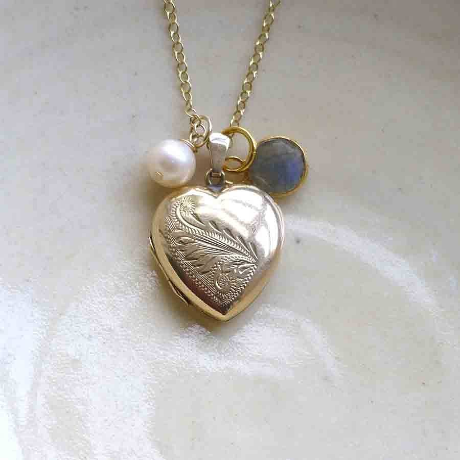 necklace store silver you locket i forever mommy ll lockets vintage style love