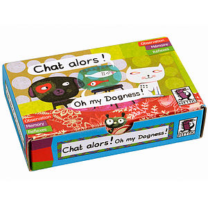 Chat Alors Card Game - toys & games