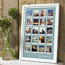 20 images - 23mm white frame
