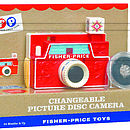 Retro Classic Changeable Picture Disk Camera