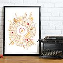 Personalised Wizard Of Oz Story Print