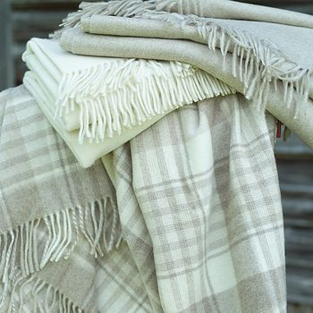 Cashmere Wool Throw Everest