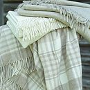 Everest Cashmere Wool Throw