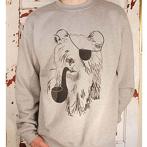 Pirate Bear Jumper - men's fashion