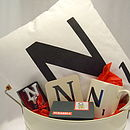 Personalised Letter Style Hamper