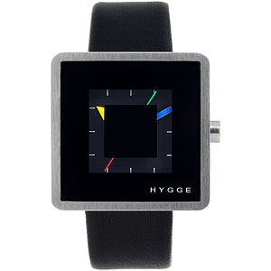 Hygge Watch Squared Face - gifts for him