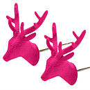 Pink Oh Deer! Earrings