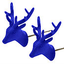 Blue Oh Deer! Earrings