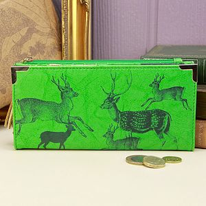 Heritage And Harlequin Deer Purse - purses & wallets
