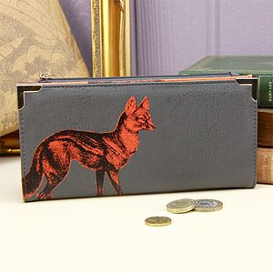 Heritage And Harlequin Fox Purse - bags & purses