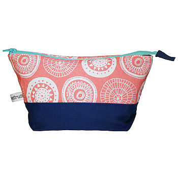 Flower Cosmetic Bag