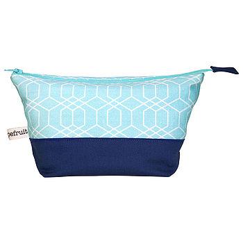 Honeycomb Cosmetic Bag