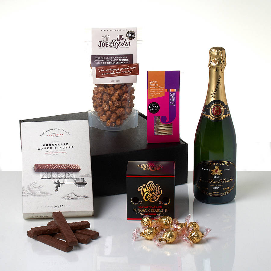 The Champagne And Chocolate Lover's Hamper