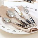 Brown Bistro Cutlery