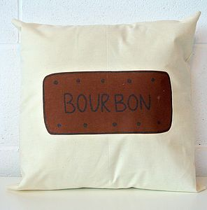 Bourbon Biscuit Cushion
