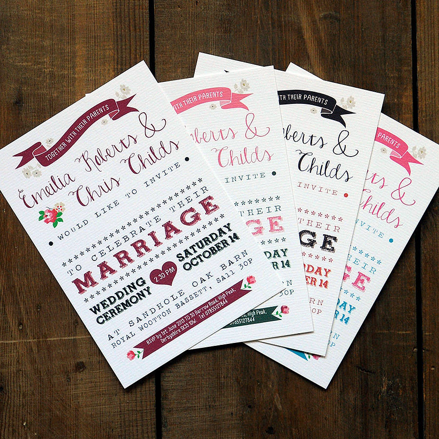 vintage country wedding invitation by feel good wedding invitations ...