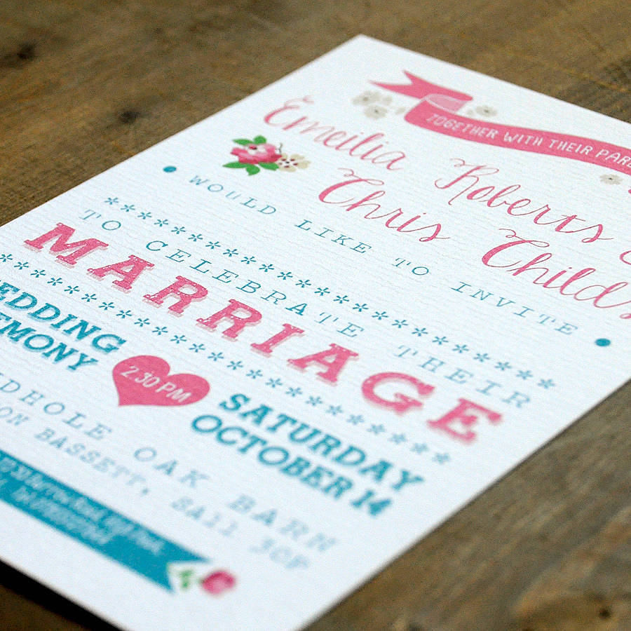 Vintage Wedding Invitations: Vintage Country Wedding Invitation By Feel Good Wedding
