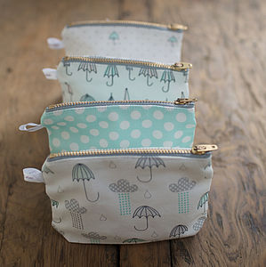 Umbrella Print Purses - summer sale