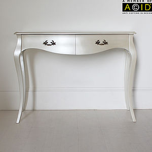 Curvy Console Or Dressing Table