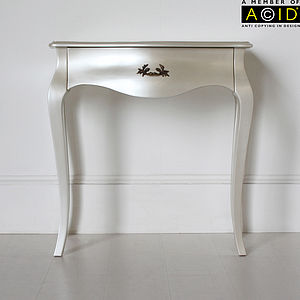 Curvy Small Console Or Dressing Table