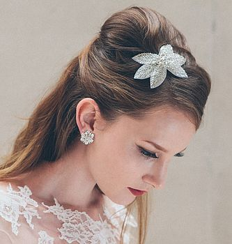 Juliet Crystal Bridal Hair Comb