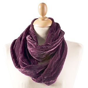 Silk Velvet Snood