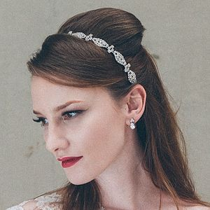 Coppelia Diamante Crystal Wedding Headband