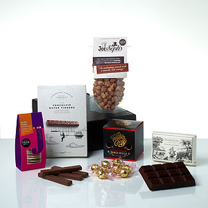 The Chocolate Lovers Gift Hamper - gifts for foodies