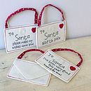 Letter To Santa Hanging Envelope