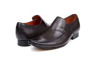 Stanton Brown Mens Leather Shoes