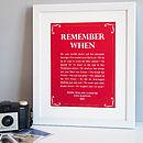 Artwork in Velvety Red with a white frame