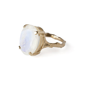 Moonstone Ring Beauty In The Wild - rings