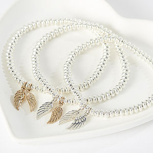 Heaven Sent Angel Wing Bracelet