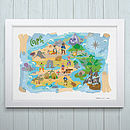 Treasure Island Fine Art Print