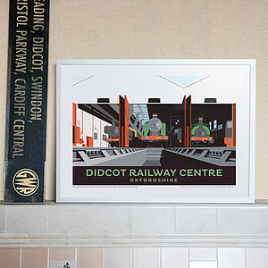 Didcot Railway Centre Oxfordshire Print - contemporary art