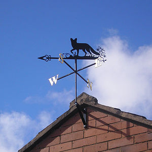 Fox Weathervane - art & decorations