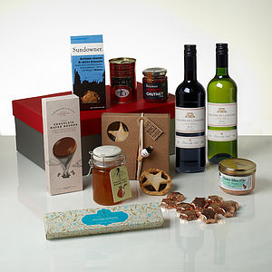 The Christmas No.One Gift Hamper - gifts for foodies