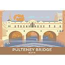 Pulteney Bridge Bath Print