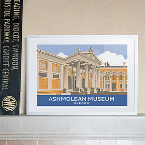 Ashmolean Museum Oxfordshire Print - home accessories
