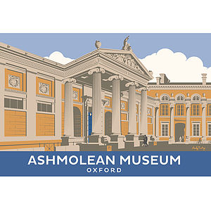 Ashmolean Museum Oxfordshire Print - architecture & buildings