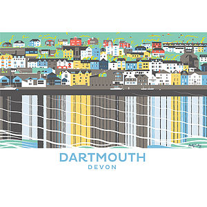 Dartmouth Devon Print - shop by price