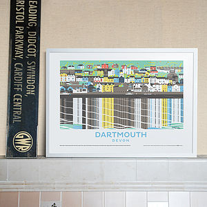 Dartmouth Devon Print - contemporary art