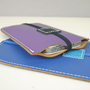 Personalised Leather Phone Case - bags & purses